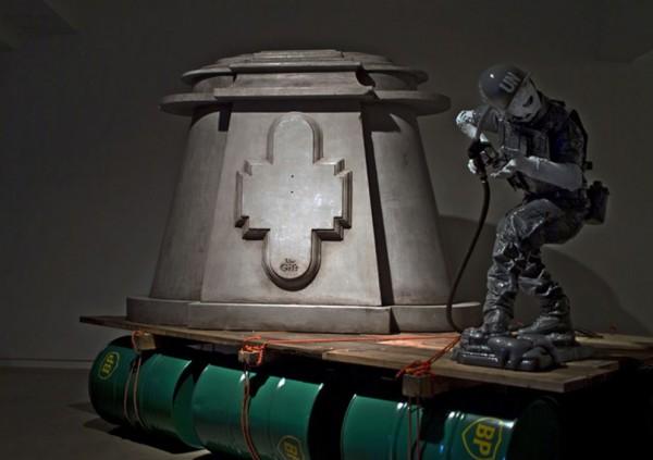 Benkovacsy, sculptural component for Joshua Webb, Raft, 2008, 210x200x300